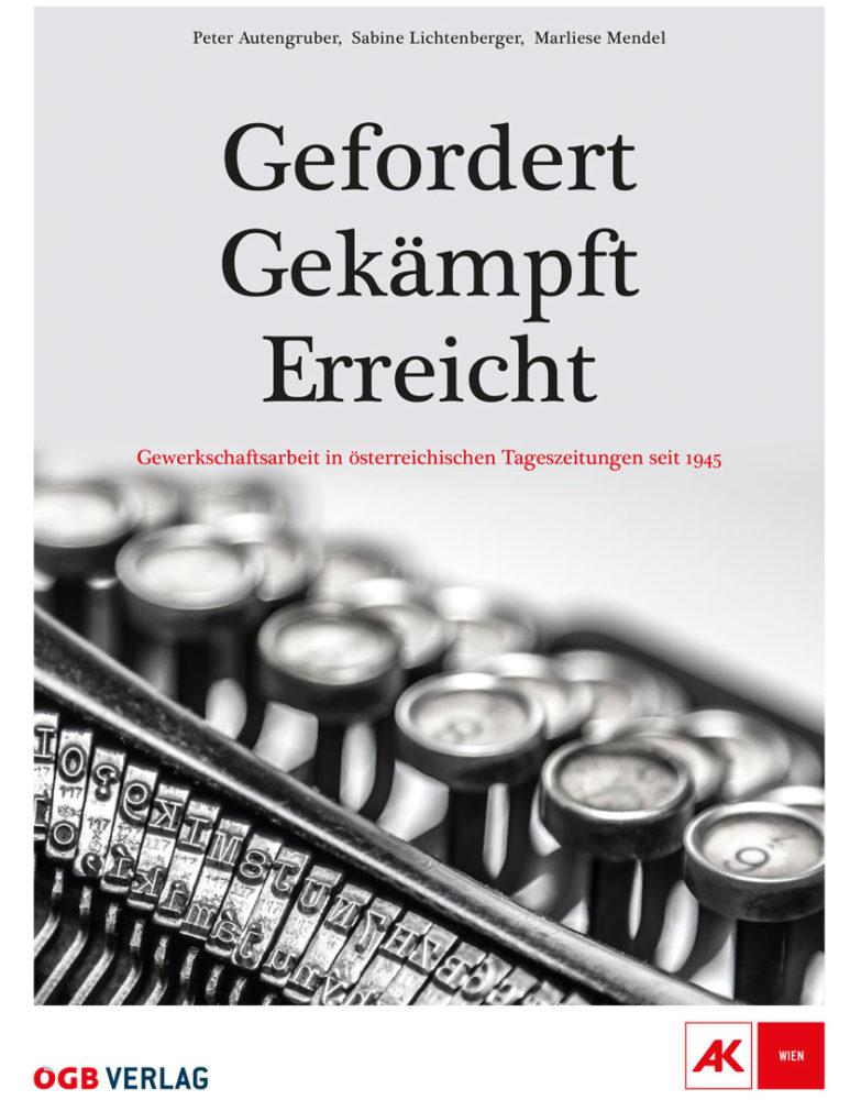 Buchcover: Gefordert-Gekämpft-Erreicht