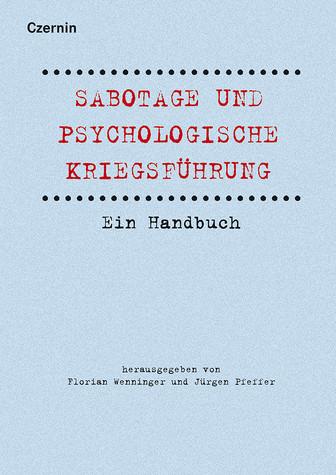 Buchcover: Sabotage und psychologische Kriegsführung