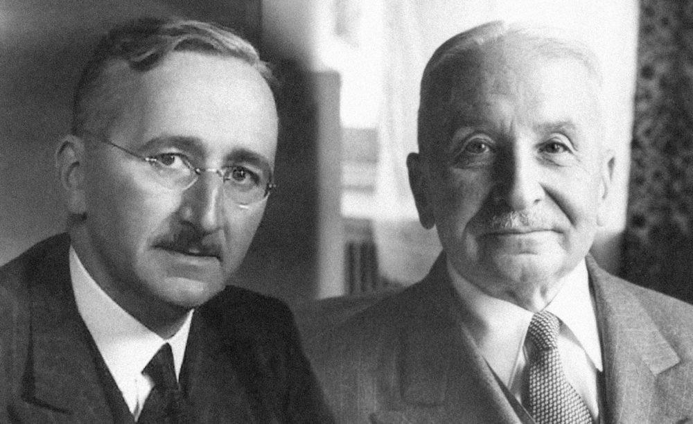 Friedrich Hayek, Ludwig Mises
