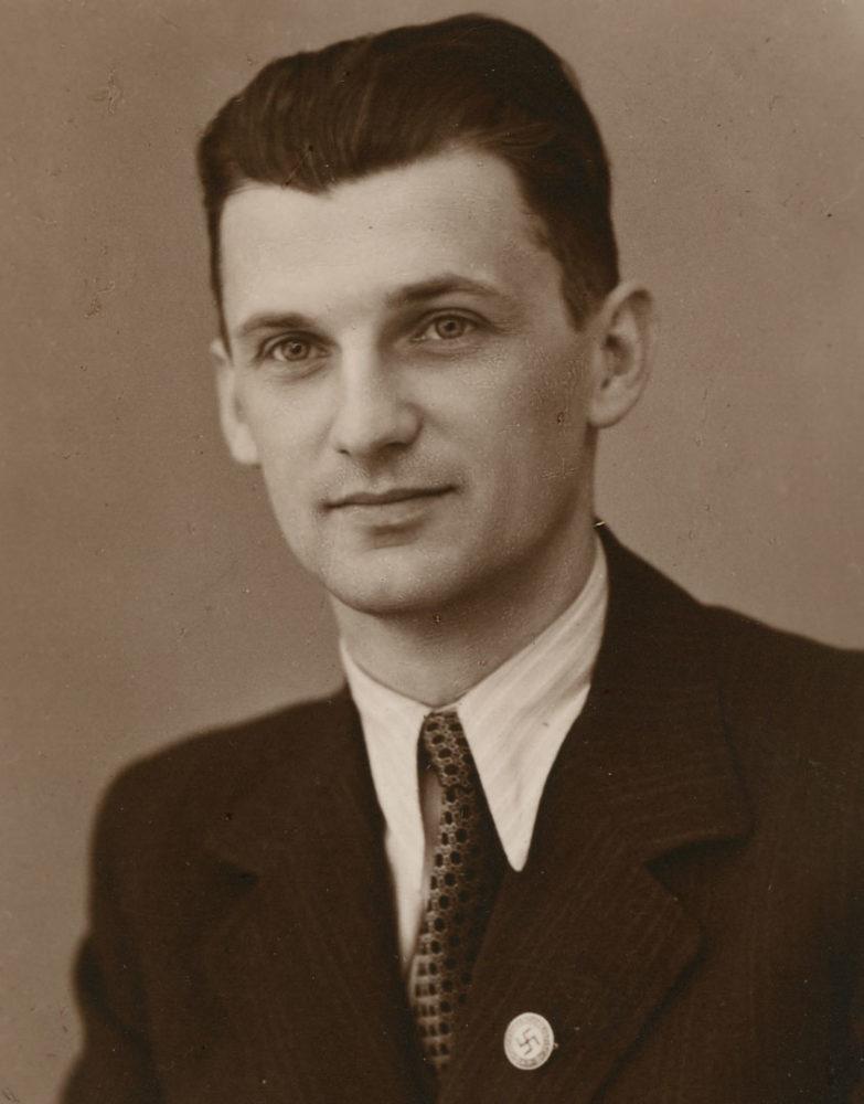 ©Wiener Stadt- und Landesarchiv / NSDAP-Parteigenosse und SS-Obersturmbannführer Karl Kowarik, 1957-1960 Generalsekretär der FPÖ